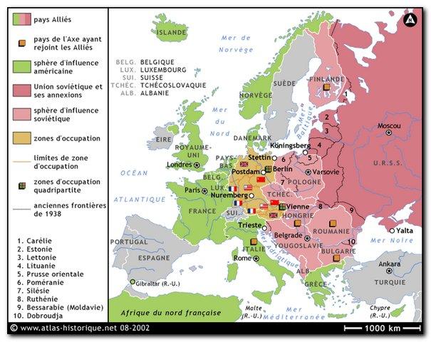 dissertation sur leurope pendant la guerre froide Entre les deux vainqueurs de la 2 nd guerre : urss et usa l'europe est affaiblit par pendant la guerre rythme de la guerre froide.